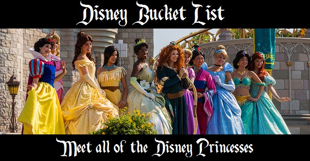 bucket list - princesses