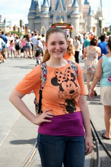 Don't be afraid to pose by  yourself for photopass pictures!