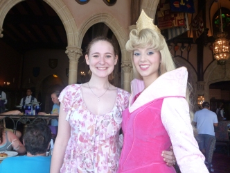 Aurora - another classic Princess found at Akershus and Cindy's Table.