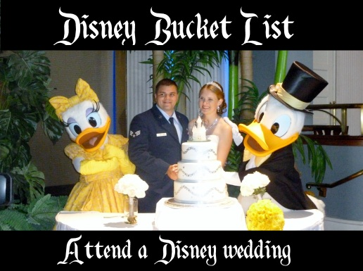 attend a disney wedding
