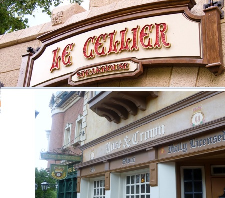le cellier vs. rose and crown