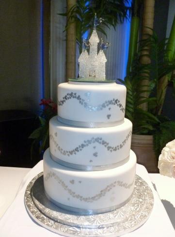Chris and Megan's cake