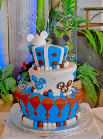 Danielle and Bart's cake
