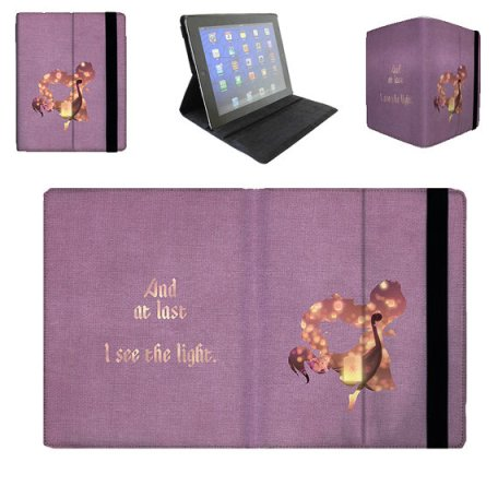 Here's a look at the Tangled ipad case!