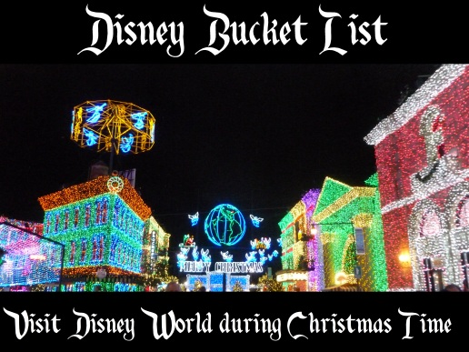 bucket list - christmas