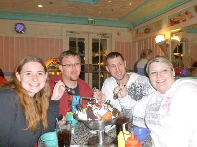 Kitchen Sink at Beaches and Cream - Disney in your Day