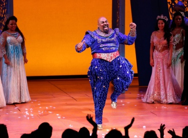 """Aladdin"" On Broadway Opening Night - Arrivals & Curtain Call"