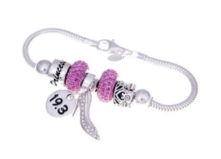 Milestone sports - glass slipper bracelet