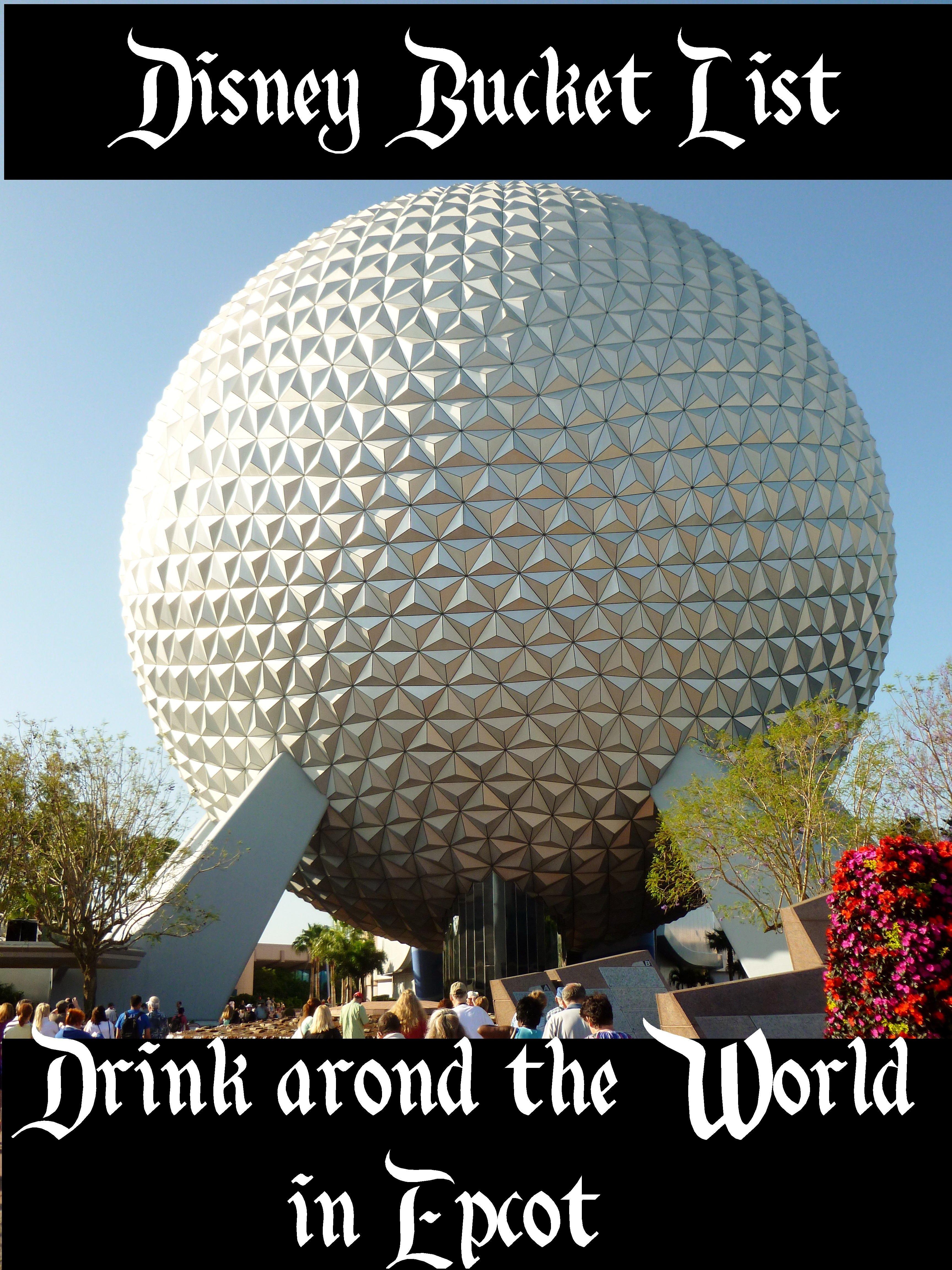 Drink around the World - Disney in your Day
