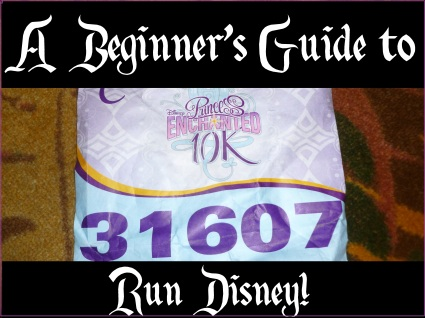 beginner's guide to run disney