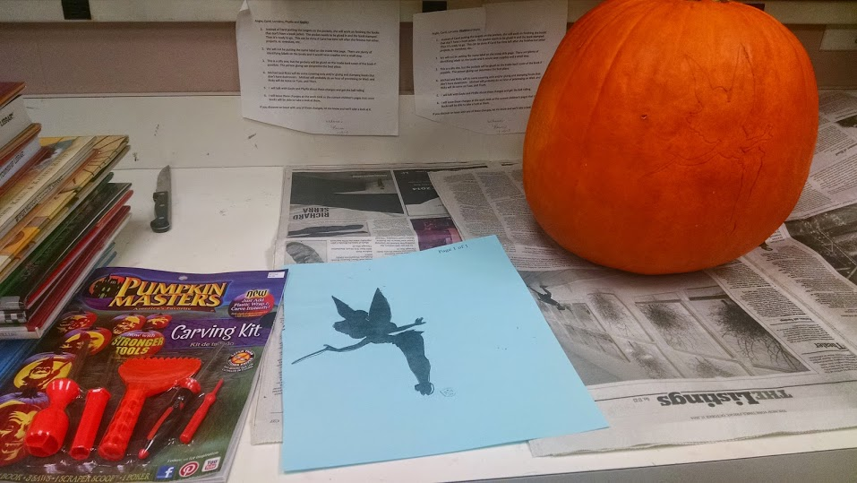 How to carve a Tinkerbell pumpkin - Disney in your Day