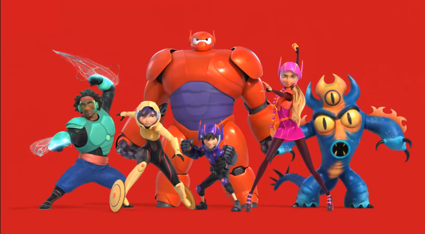 Big hero 6 review disney in your day