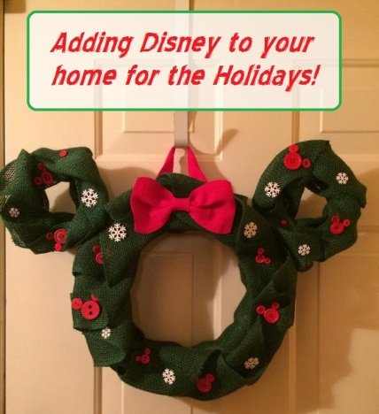 Disney to your home for the Holidays - Disney in your day