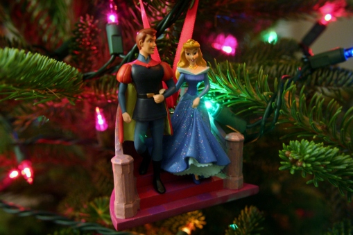 "Another ""couple"" ornament - I like that Aurora is in her blue dress :)"