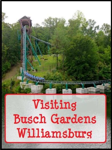 Other Theme Parks: Busch Gardens Williamsburg - Disney in your Day