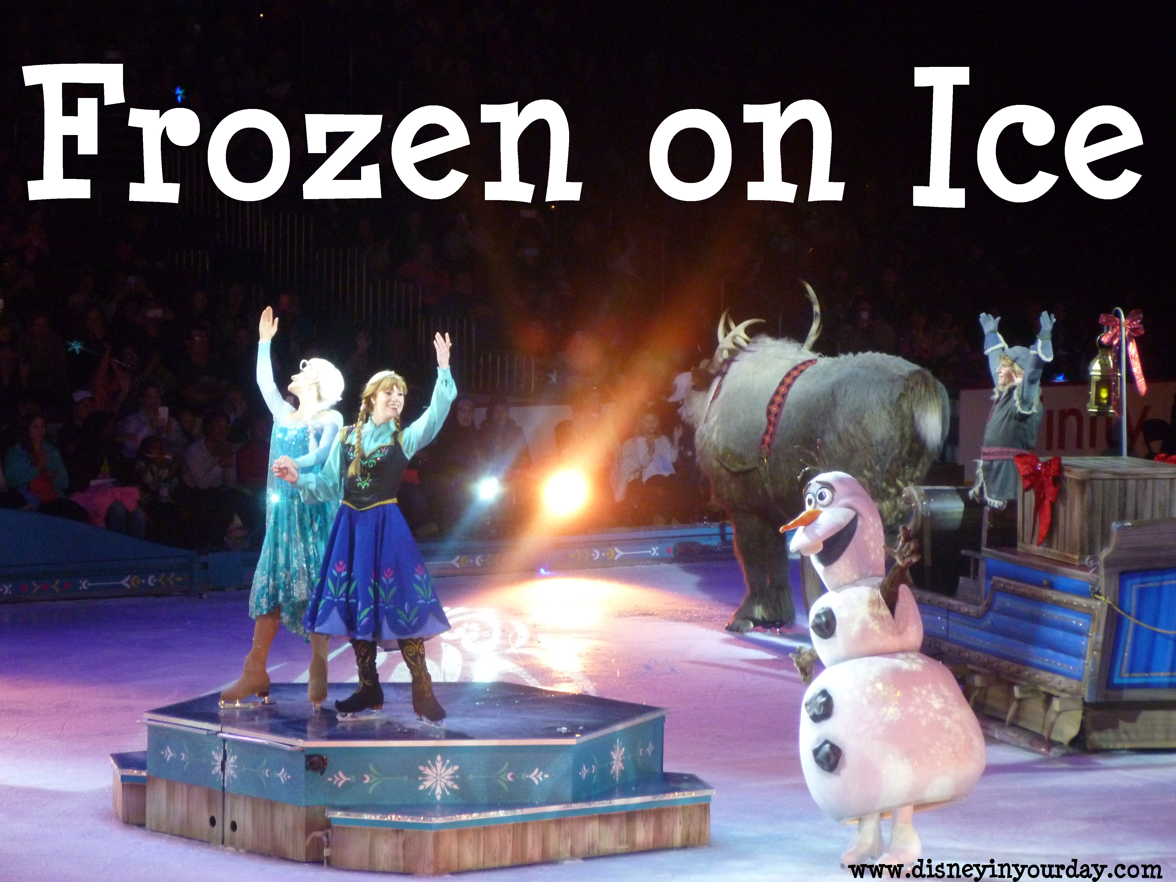 Frozen on Ice review - Disney in your Day