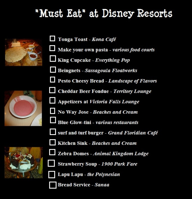 must eat resorts